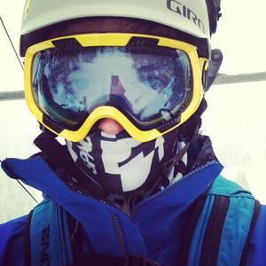 Evan Cinco de Mayo Snowboarding May 5 2013