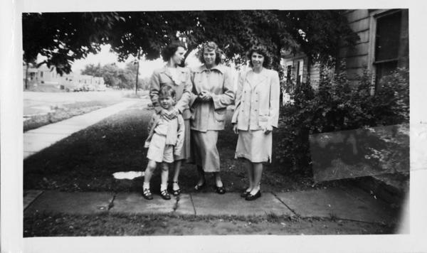 Doris, Kate, Sylvia and Bud.