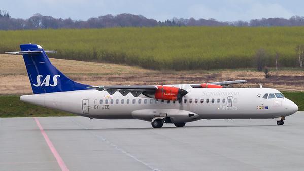 OY-JZE - ATR 72-600