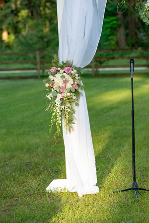 John & Melissa Spray Wedding