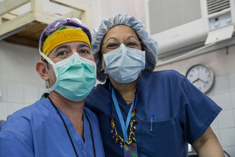 Kameron and Shrilekha, anesthesiologists.