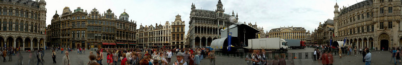 A panorama of the Main Square
