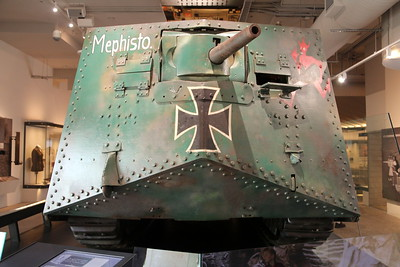 Mephisto, last of the A7V's
