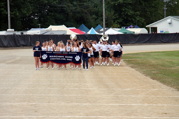 '19 West Geauga High School Band at Band-O-Rama!