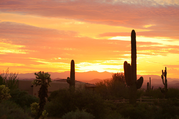 Arizona Landscapes & Sunsets