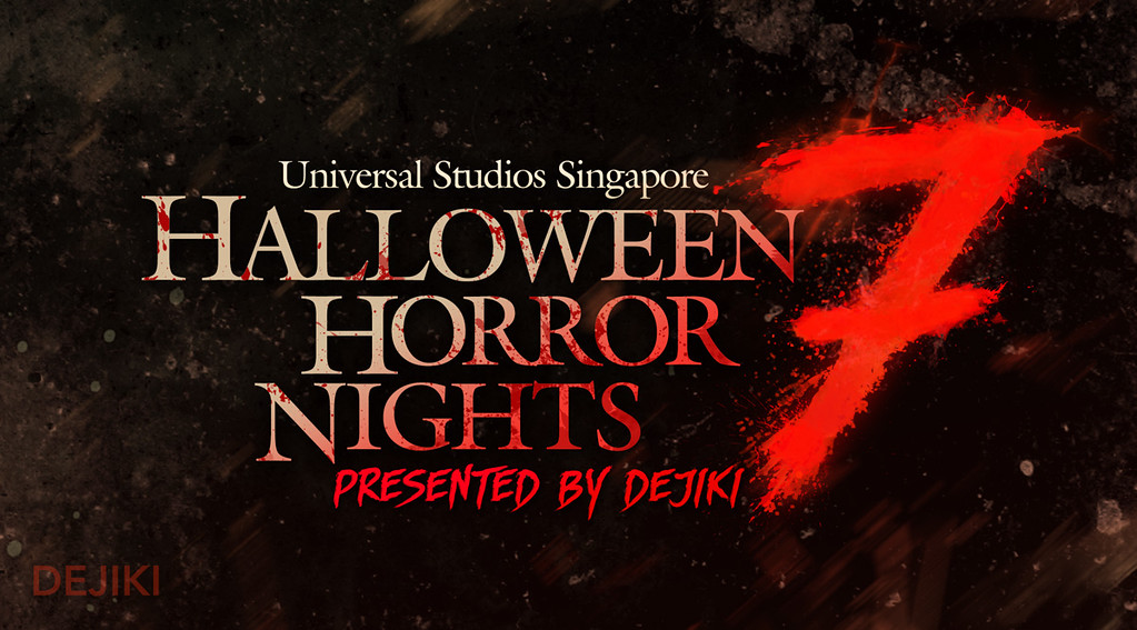 Halloween Horror Nights 7 logo by Dejiki.com Full Event Line-Up and Ticketing Information