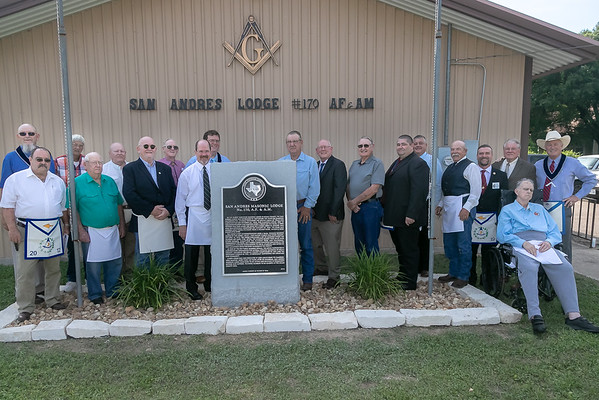 San Andres Historical Marker Dedication 2019