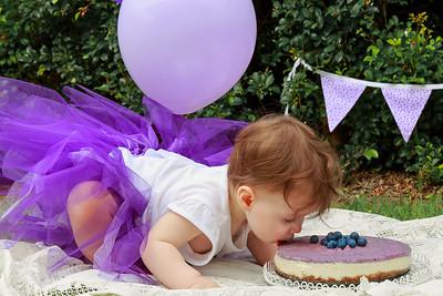 Miss Emily's Cake Smash