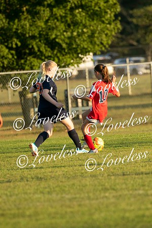 Soccer vs Blackman Middle 9/17/19