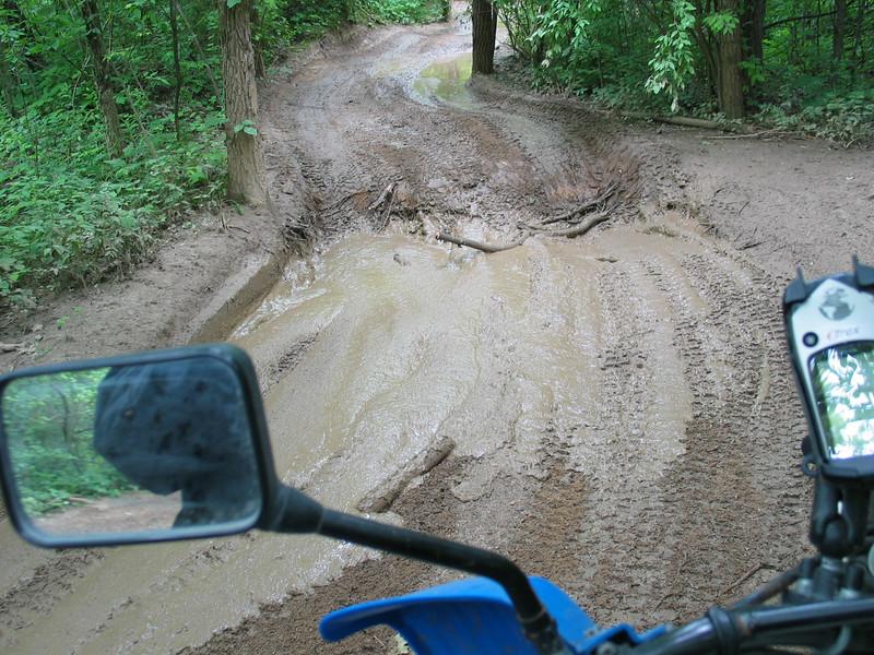 Mud trail