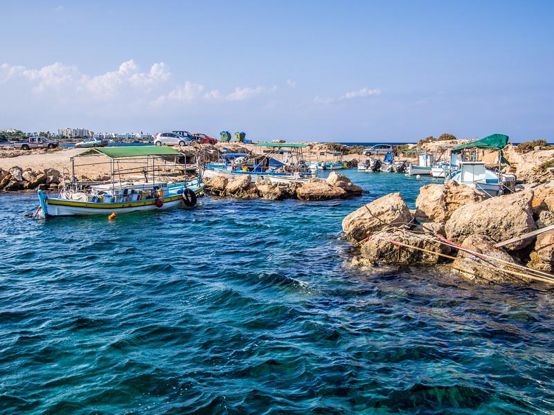 Sea near Protaras