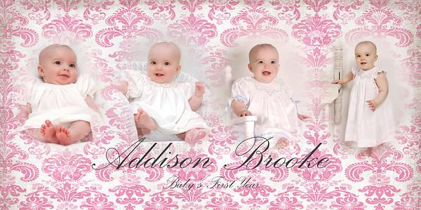 ADDISON AND EMMA ~ Baby Panel