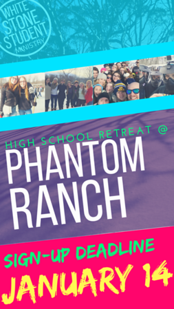 HSM Winter Retreat @ Phantom Ranch (jan 2018)
