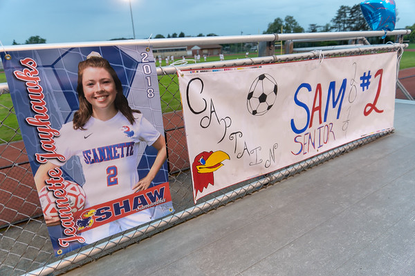 10.10.28 Senior Night  Lady Jayhawks