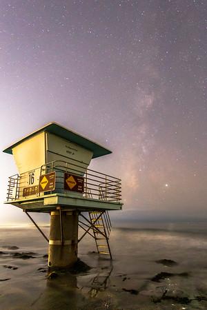 Coastal Milky Way in San Diego
