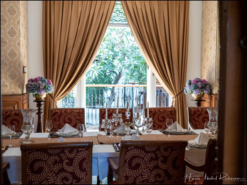 Lunch at the very beautiful Plataran Menteng restaurant