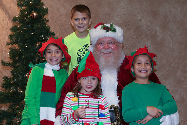 Santa and his Elves
