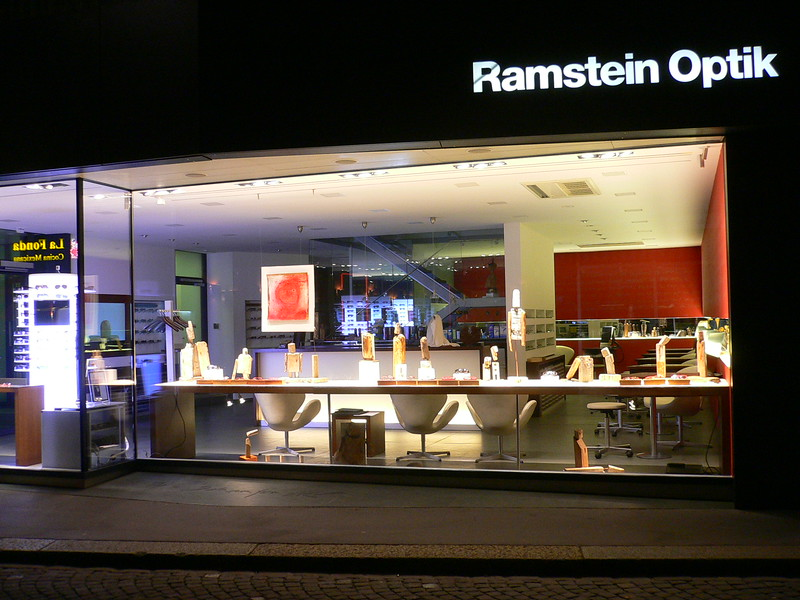 Exposition in Ramstein Optik - Basel 2009