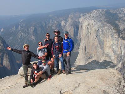 Yosemite Day Hikes: Nov 9-12, 2018