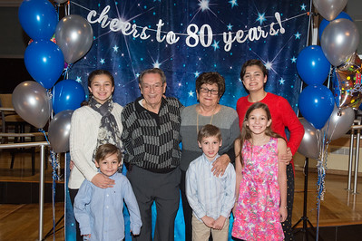 Mike Emmanuel's 80th Birthday Party 11-16-2018