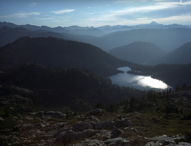 PCT from Snoqualmie Pass to Chikamin Peak area