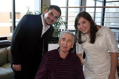 Miriam & Rachmil visit Opa