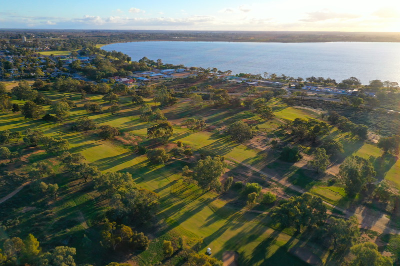 Over Barmera Golf Course