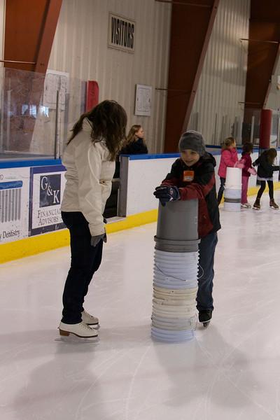 2013-02-09 Ice Skating w/ Trevor & Camryn