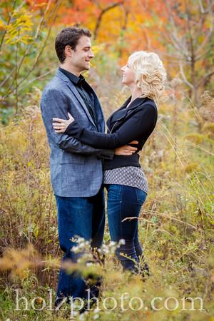 Rachel & Ben Color Engagement Photos