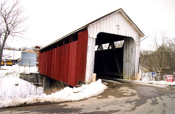 Snow Hill Covered Bridge