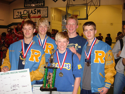 RAIDER WRESTLING 2008