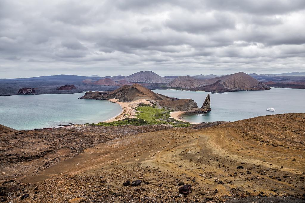 Bartoleme Island in the Galapagos Islands