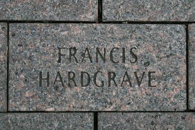 Bicentennial Mall Francis Hardgrave Brick