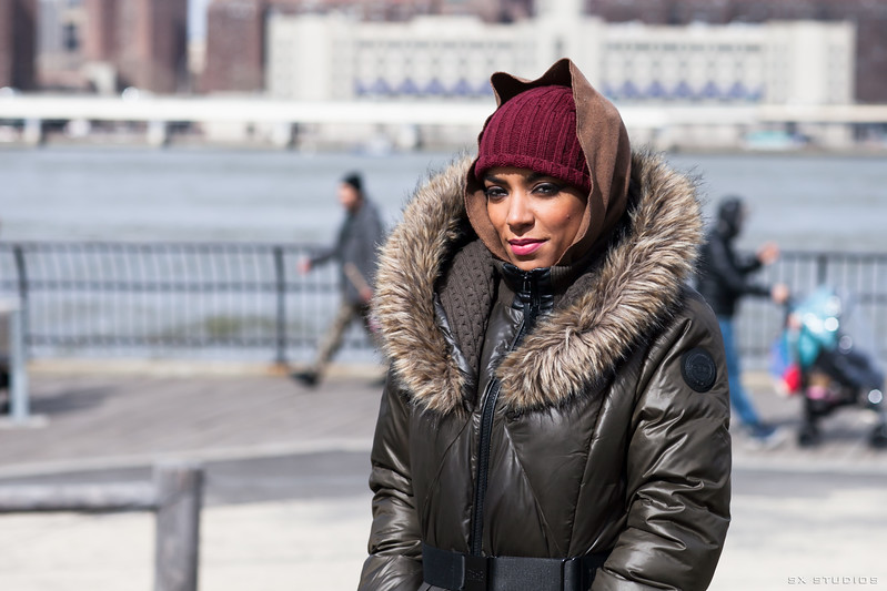 Natalia Segura's Music Video Shoot
