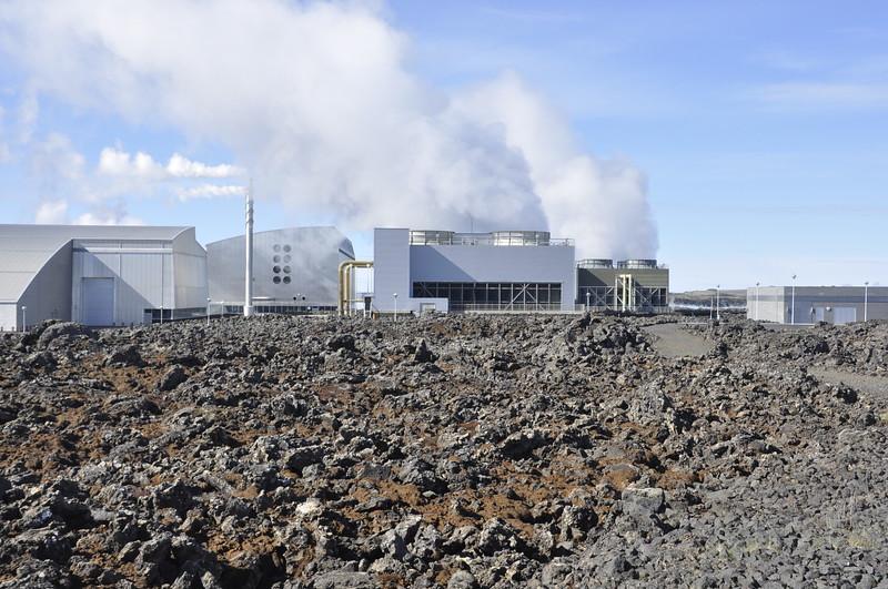 Geothermal Power Plant - Grindavik, Iceland