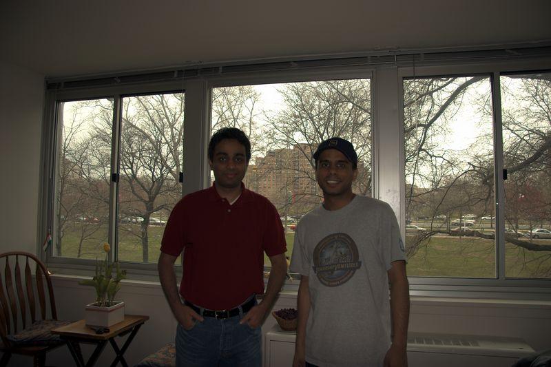 My friend Jesal (on right)