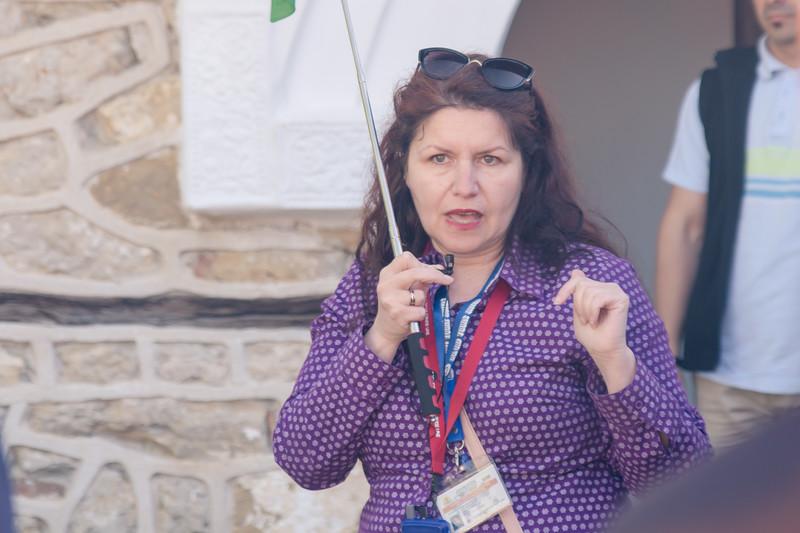Tour guide in Arbanassi