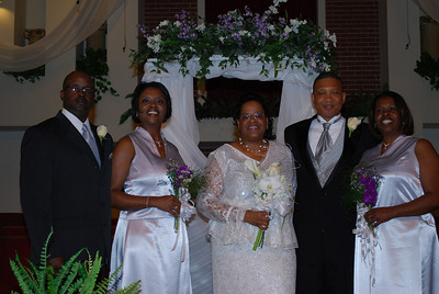 Alford & Renee Norris Wedding June 7, 2008