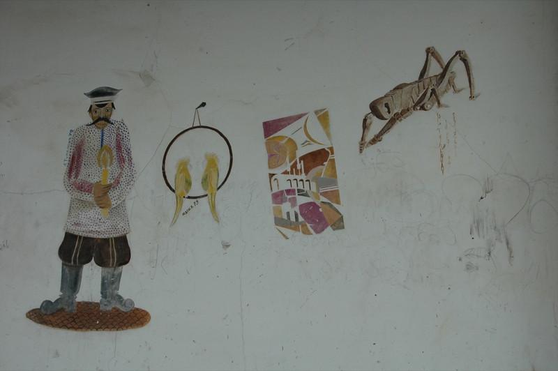 Graffiti in Telavi - Kakheti, Georgia