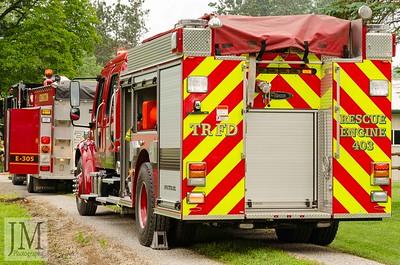 06-02-19 Three Rivers FD - Truck Fire