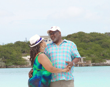 The Storr's Wedding Anniversary. Exuma, Bahamas