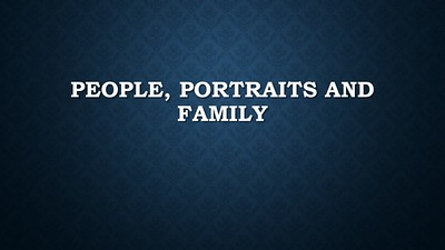 People / Portraits / Family