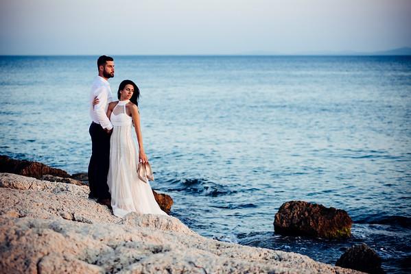 Nadia & Yannis 🎈 Wedding in Salamina, Greece