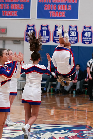 LB BBK Cheerleaders @ Home Game (2019-02-15)