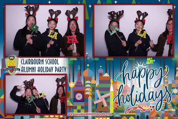 Clairbourn School Alumni Holiday Party 2018