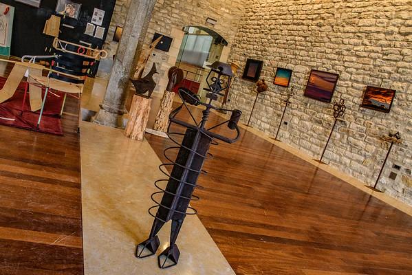 Exposicíon Morella, España, amigos y comida