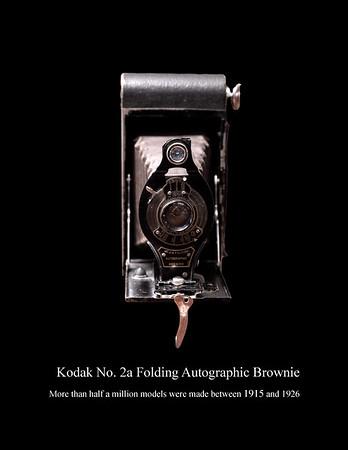 Kodak No. 2A Folding Autographic Brownie 1915