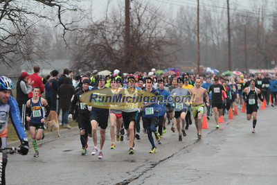 5K Start - 2012 Run Like the Dickens