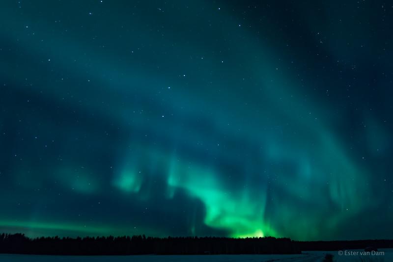 Northern Lights, Mieluskyla, 24.12.2016 V