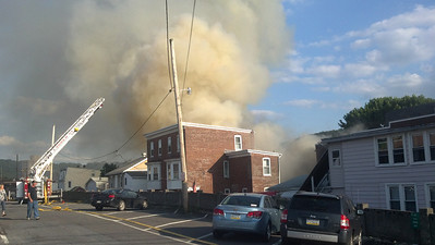 Fire, Submitted Photos, Gun Fire Store, Schuylkill Haven (5-31-2012)